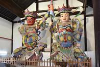 扬州大明寺天王殿塑像
