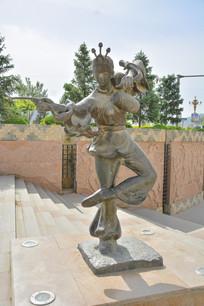 雕像陕北民俗腰鼓