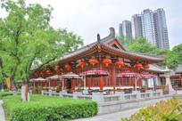 古建筑风格茶馆