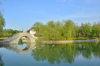 华阴人民公园风景