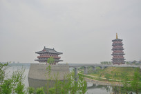 洛阳丝绸公园风景
