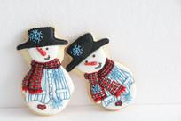圣诞小雪人饼干