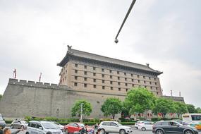 西安古城楼