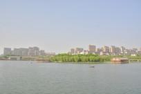 西安曲江池湖光风景