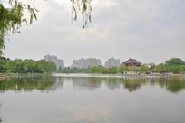 兴庆宫湖光水景