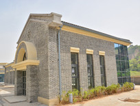 延安民国建筑商业楼