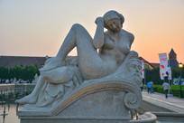 雕像古罗马女人体艺术