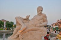 雕像古罗马人体艺术男人造型