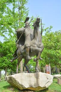 雕像狩猎的秦始王