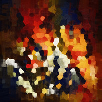 抽象油画 背景 墙壁画