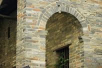 古屋走廊拱门