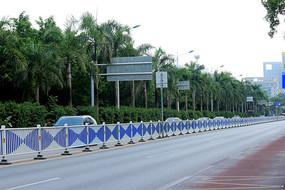 景观道路栅栏