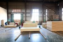 木业公司品控车间