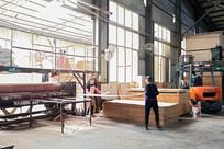 生态板生产车间