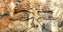 石雕背景素材