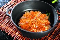 铁锅葱烧虾