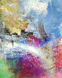 走廊装饰画 抽象画