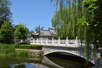 北京东不压桥胡同杨柳石桥