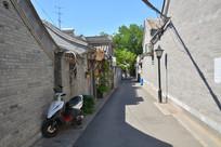 北京胡同小道