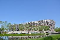 北京鸟巢风景
