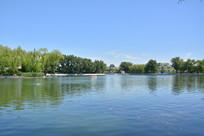 北京中海湖面