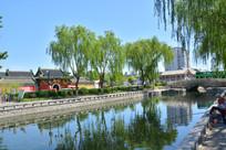 北京中海水岸庙宇风景