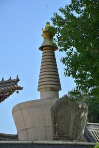 呼和浩特五塔寺石塔