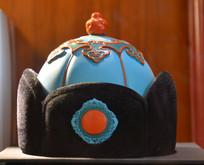 蒙古族四耳帽