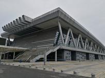 绵阳会展中心建筑大楼