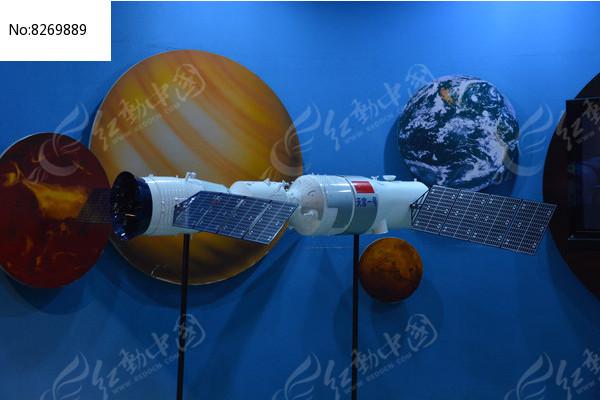 模型航空天空一号图片