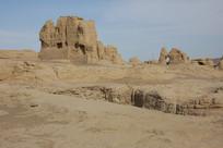吐鲁番市交河故城民居遗迹