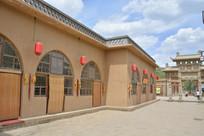 文安驿景区窑洞式餐厅