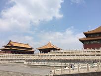 雨后的北京故宫