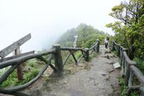 好汉坡崎岖登山道