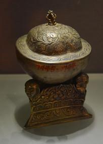文物佛教银法器