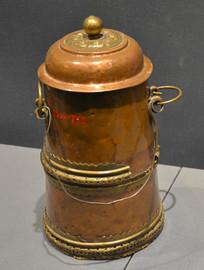 文物蒙古铜茶壶
