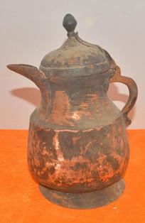 文物紫铜茶壶