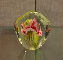 友谊外交文物玻璃工艺品