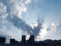 心形云彩图片
