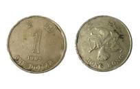 一元港币硬币