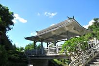 古典回栏建筑楼阁