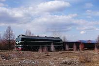 内燃机货运列车