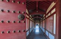 法门寺庙门
