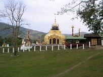 缅甸伊洛瓦底江畔弗塔