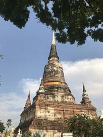 泰国大城摄影