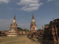 泰国大城寺庙