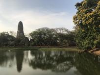 泰国寺庙大城