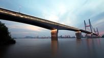 武汉长江二桥夜色