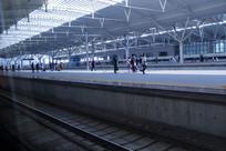 高铁站内转乘