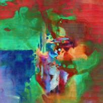 现代艺术抽象油画装饰画